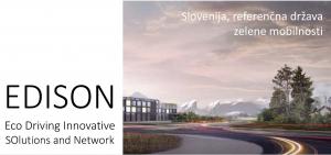Projekt EDISON Slovenija - referenčna država zelene mobilnosti