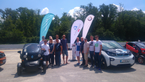 »Rally Rotary 2018, EDISON in Zelena Dolenjka na dirkališču Cerklje«
